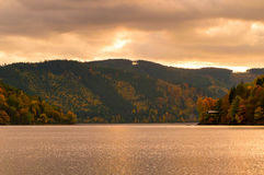 Den stora Tarnen i Thüringen Fotografering för Bildbyråer