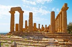 Den stora templet av Juno Royaltyfria Foton