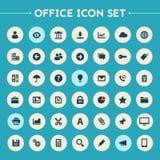 Den stora UI, UX och kontorssymbolen ställde in Arkivbild