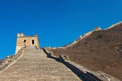 Den stora väggen Arkivbilder
