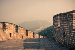 Den stora väggen Royaltyfri Fotografi