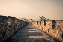 Den stora väggen Arkivfoto