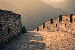 Den stora väggen Arkivbild