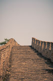 Den stora väggen Royaltyfri Bild