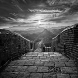 Den stora väggen av Kina Royaltyfri Foto