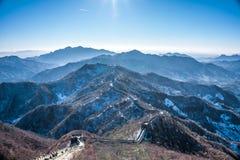 Den stora väggen av Kina Arkivfoton