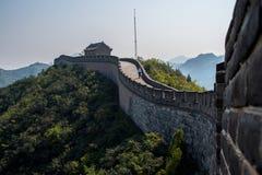 Den stora väggen parkerar Fotografering för Bildbyråer