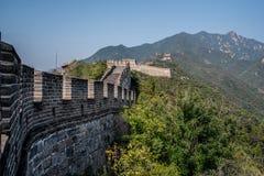 Den stora väggen parkerar Arkivfoto