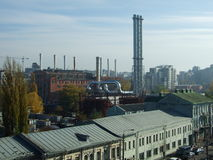 Den stora värmen och kraftverket Royaltyfri Bild