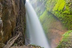 Den stora vattenfallet Arkivfoto