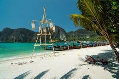 Den storartade Phi Phi Islands Royaltyfri Fotografi
