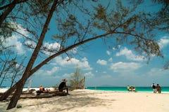 Den storartade Phi Phi Islands Arkivbilder