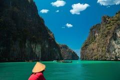 Den storartade Phi Phi Islands Arkivfoto
