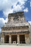 Den storslagna Ballcourten i Chichen Itza, Mexico Royaltyfria Foton