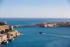 Den storslagna hamnen Royaltyfri Fotografi