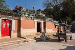 Den storslagna Matsu Temple, också som är bekant som Datianhouen eller den stora drottningen av himmeltemplet Arkivbilder