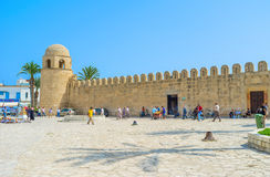 Den storslagna moskén Royaltyfri Foto