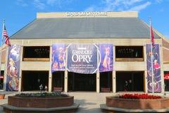 Den storslagna Ole Opry House royaltyfri bild