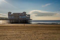 Den storslagna pir, Weston-toppen-sto, England fotografering för bildbyråer