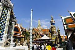Den storslagna slotten - Bangkok Royaltyfri Bild