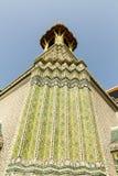 Den storslagna slotten - Bangkok Arkivfoto
