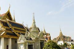 Den storslagna slotten - Bangkok Royaltyfria Foton