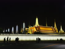 Den storslagna slotten Bangkok Fotografering för Bildbyråer