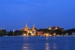 Den storslagna slotten i Bangkok, Thailand Royaltyfri Fotografi