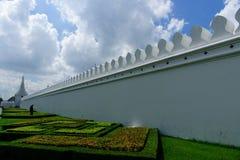 Den storslagna slotten i Bangkok Thailand Arkivfoton