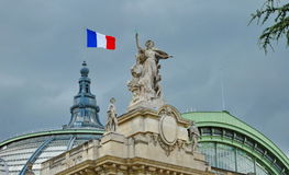 Den storslagna slotten i Paris Royaltyfri Bild