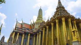 Den storslagna slotten i Thailand arkivbilder