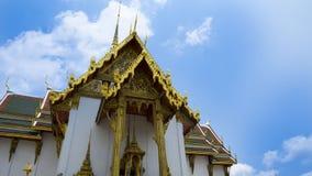 Den storslagna slotten i Thailand royaltyfri bild