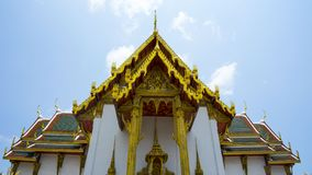 Den storslagna slotten i Thailand arkivfoto