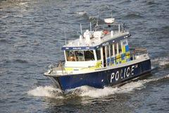 Den storstads- polisen Marine Policing Unit Fotografering för Bildbyråer