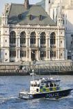 Den storstads- polisen Marine Policing Unit Royaltyfri Bild