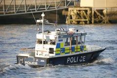 Den storstads- polisen Marine Policing Unit Royaltyfri Fotografi