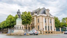 In den Straßen von Angers stockfotografie