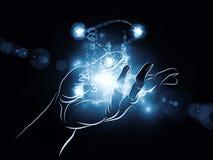 Den strömförande teknologin Royaltyfri Fotografi