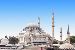 Den Suleymaniye moskén Arkivfoto