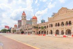 Den Sultan Abdul Samad byggnaden, Kuala Lumpur, Malaysia Arkivfoto