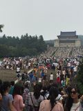 den Sun Yat-sen mausoleet; Royaltyfri Bild