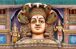 Den suveräna hinduiska gudinnan Arkivbild