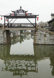 Suzhou trädgårdar arkivfoto