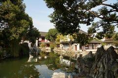 Suzhou Gardensï för Suzhou traditionell gardenï¼ ¼ royaltyfri foto