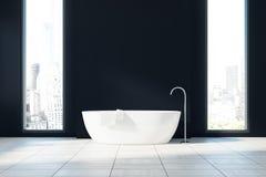 Den svarta badruminre, badar Fotografering för Bildbyråer