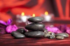 den svarta brunnsorten stenar behandling Royaltyfri Fotografi