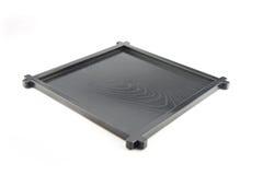 Den svarta plattan. Royaltyfri Fotografi