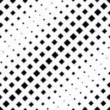 Den svartvita sömlösa repetitionmodellen och vektorbilden planlägger Royaltyfri Bild