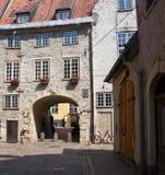 Den svenska porten i Riga Royaltyfria Bilder