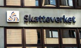 Den svenska skattbyrån Arkivbild